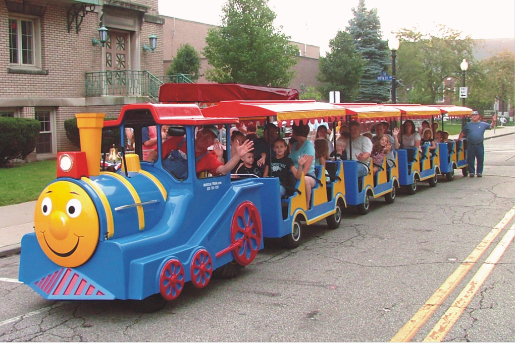 The Magical Train Train Party Rental