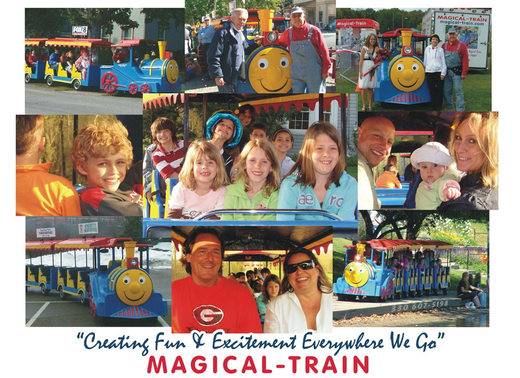 Best Trackless Train Rental Akron